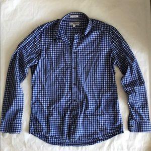 Express Men's Extra Slim Long Sleeve Shirt Size L